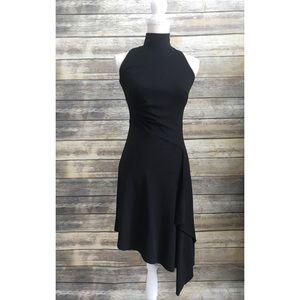 New [White House Black Market] Black Ponte Dress